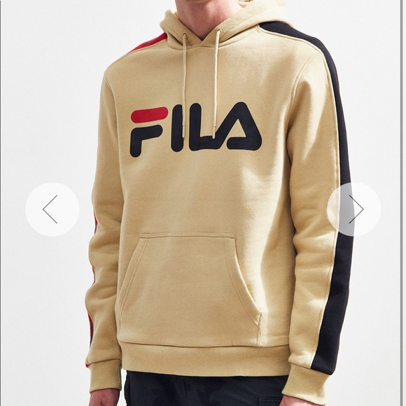 FILA Fifty-Fifty Hoodie Sweatshirt NWT
